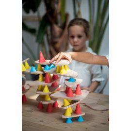 Piks 64 pièces. Le jouet créatif qui mélange équilibre et construction