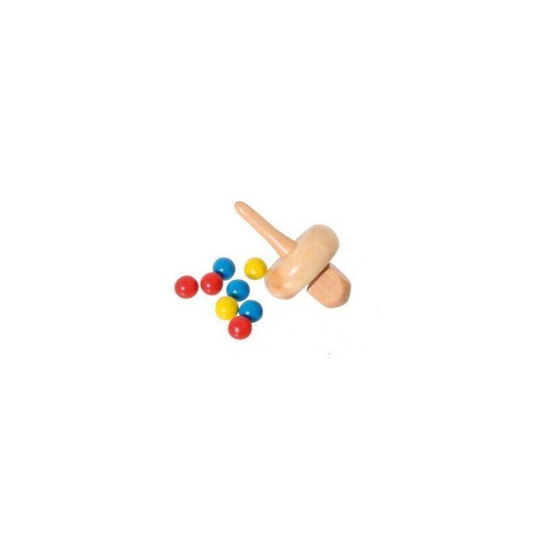 Set Toupie et billes pour Octoroulette ou virolon