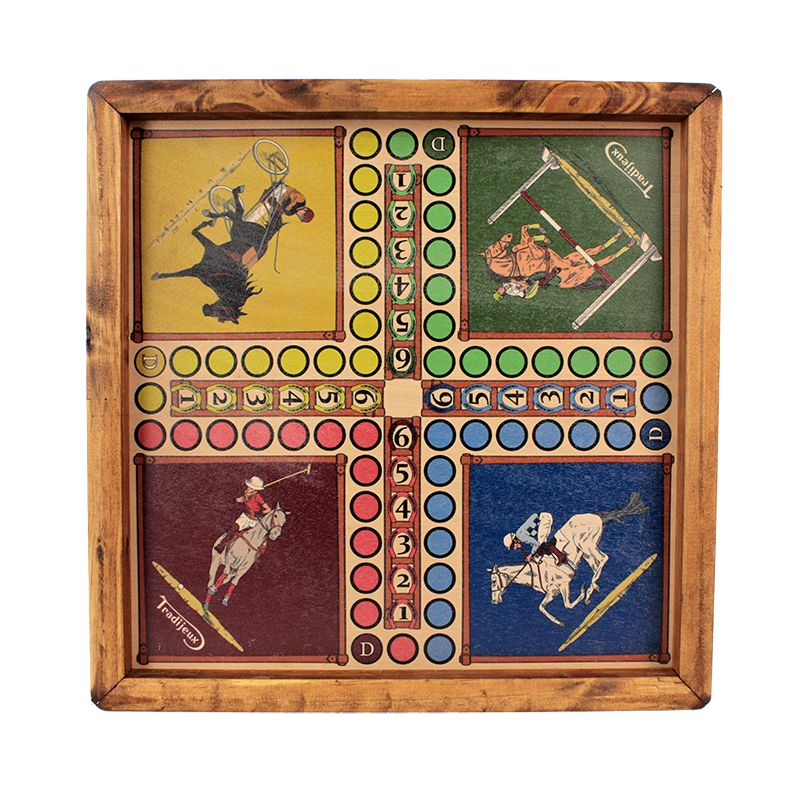 jouet en bois petits chevaux
