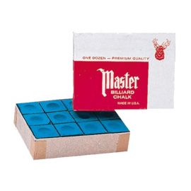 Boite de 12 craies Master bleues