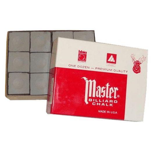 Boite de 12 craies Master grises