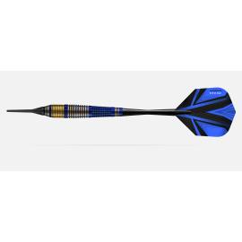 Fléchette Harrow acier Vivid 23gr Bleu