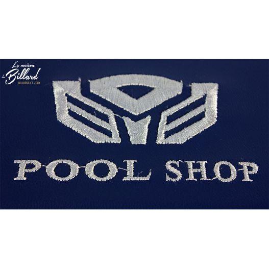 Mallette Pool shop Bleu rigide pour queue ½