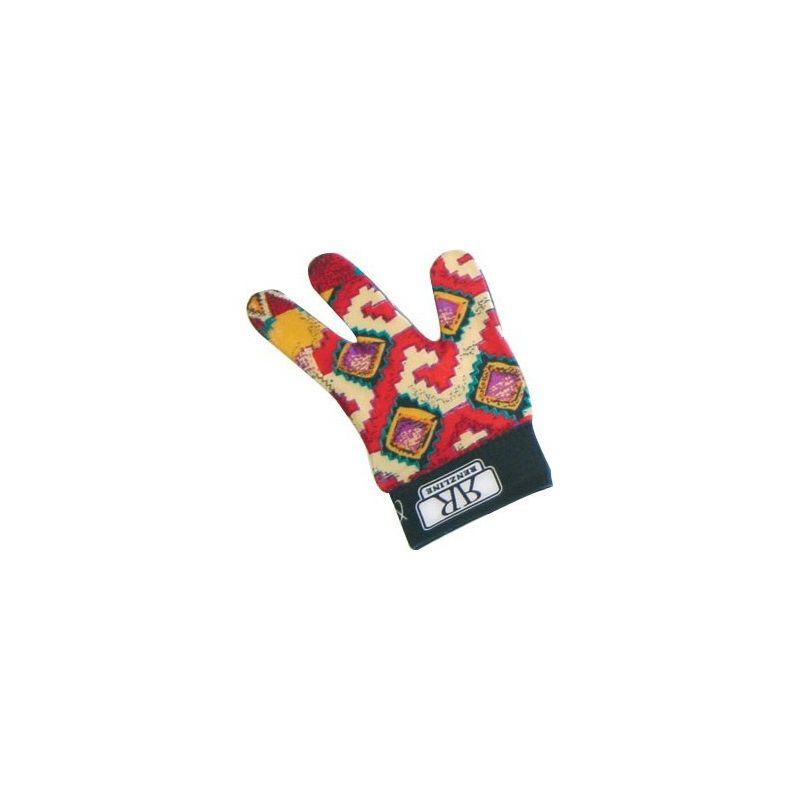 Gant multicolore Renzline poignet velcro (pour main gauche)