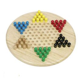 Le jeu de dames chinoises en bois, le jeu de stratégie pour tous