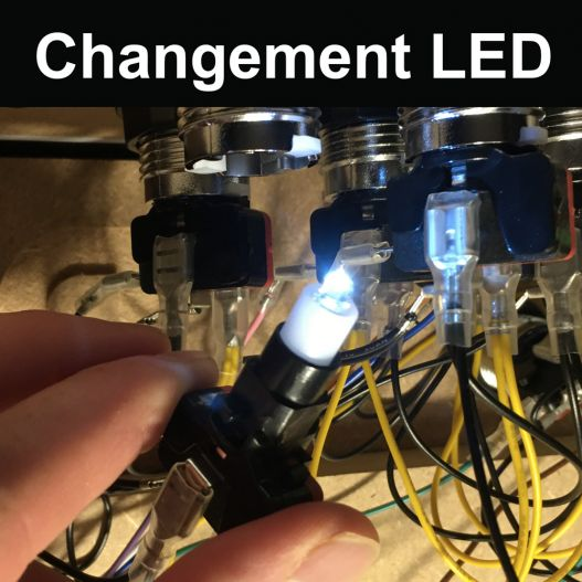 LED pour borne d'arcade