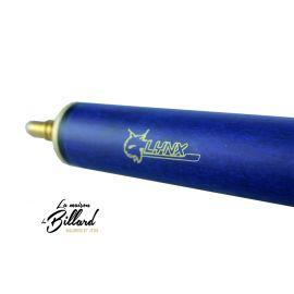 Queue de billard bleu 3 parties 145 - 120 ou 100 cm