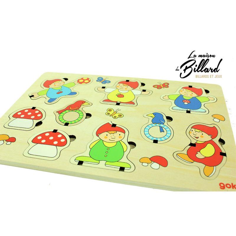 Puzzle Goki en bois