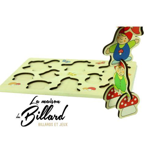 Jouet en bois puzzle educatif