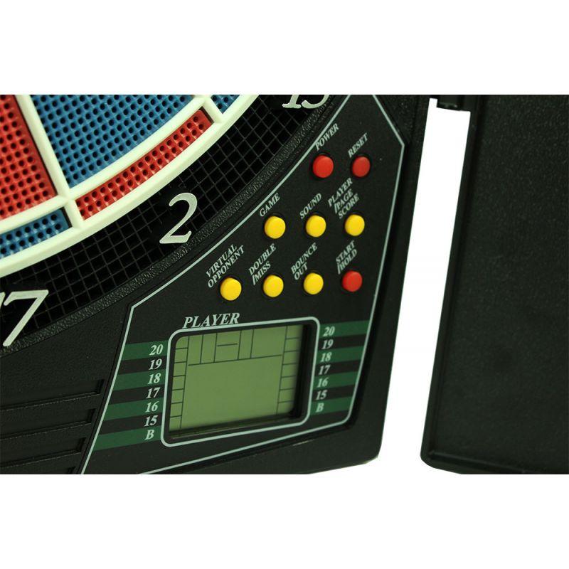 La Cible de fléchette Electronique parfaite pour jouer entre amis ou en famille.