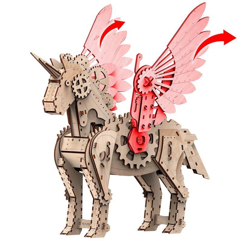 Licorne 3D en puzzle