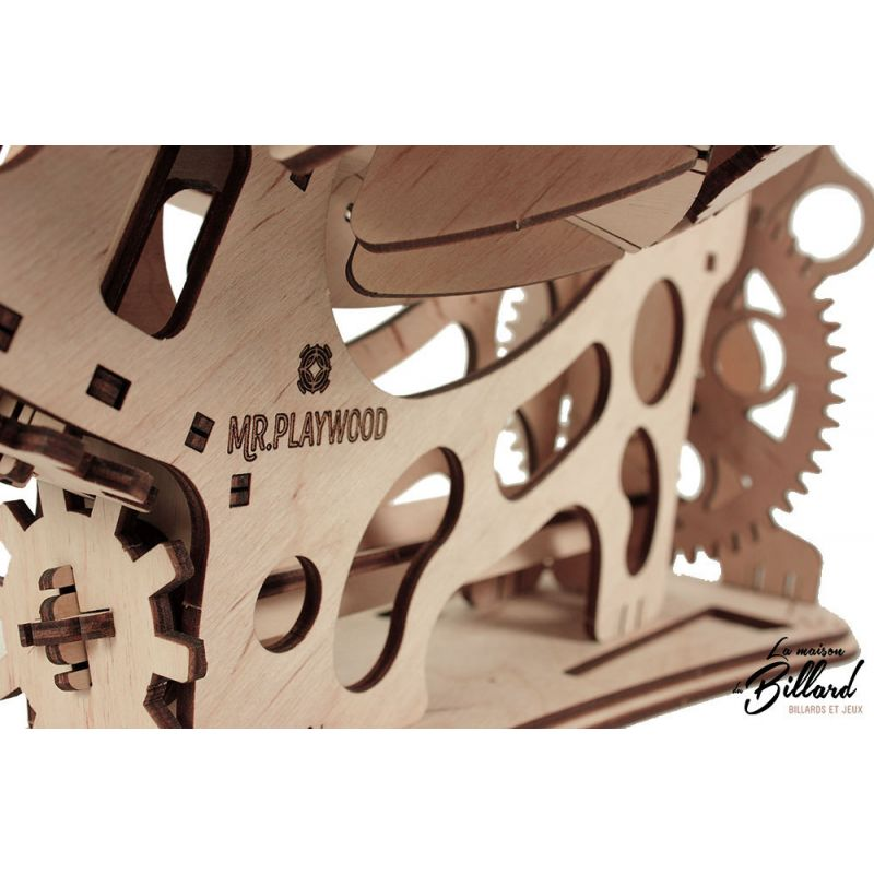 Puzzle en bois Macmonde Mr Playwood : Jeu de construction adulte