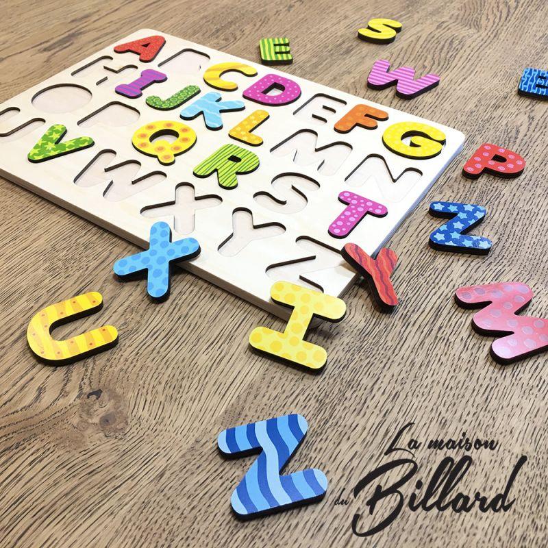 Puzzle apprendre alphabet