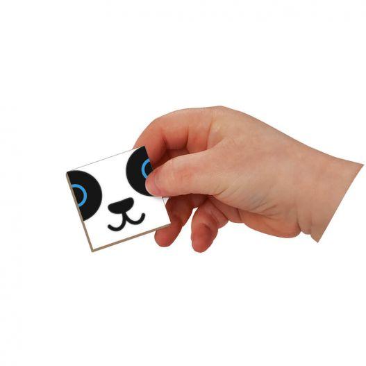 carte puzzle magnetique