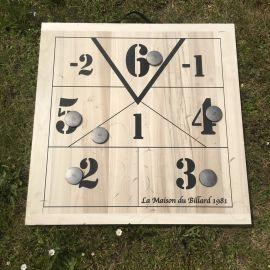 jeu planche en bois