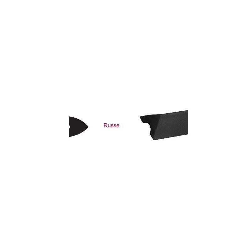 Bande triangulaire 15 mm pour billard russe le M/L