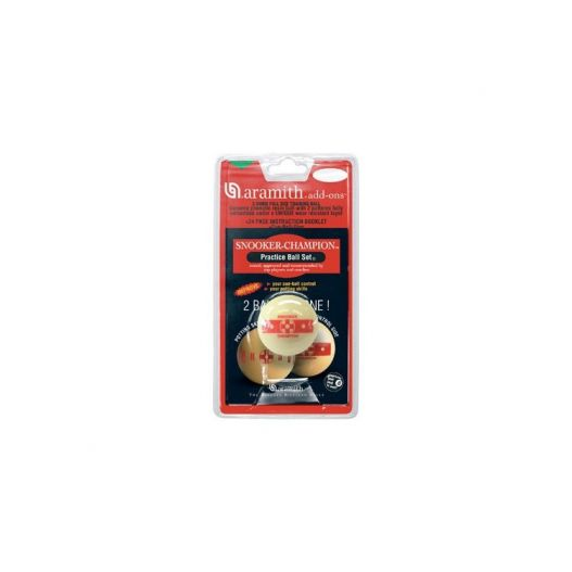Bille d'entrainement Aramith snooker 52,4 mm