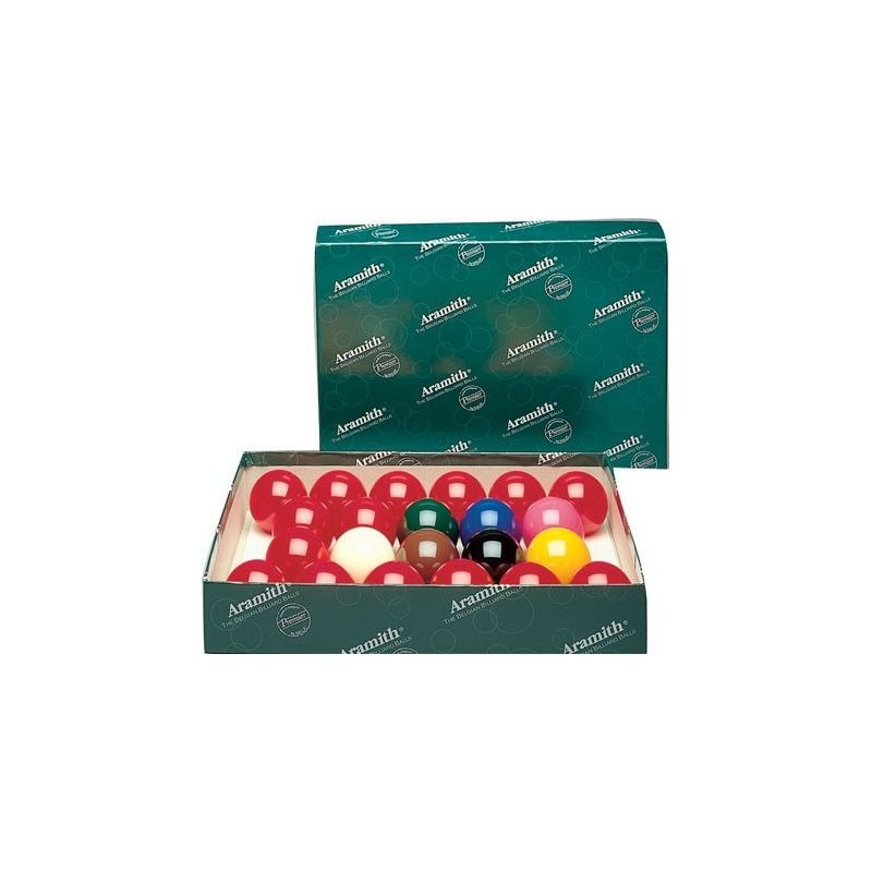 Billes snooker aramith 50,8 mm