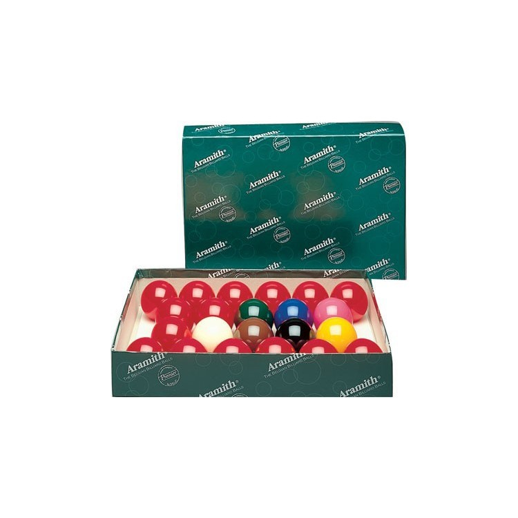 Billes snooker aramith 52,4 mm