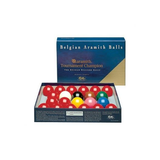 Billes snooker aramith Tournament 52,4 mm