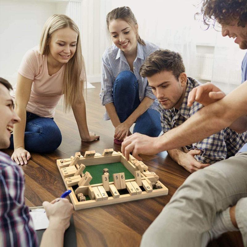 Fermez la boite 4 joueurs ou shut the box