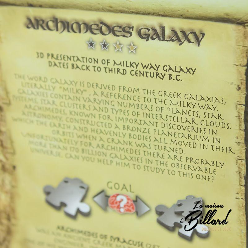 Casse tête 3D Galaxy d'Archimède