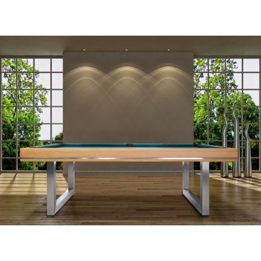 Billard convertible en Table : Harmony U Inox, collection Excellence