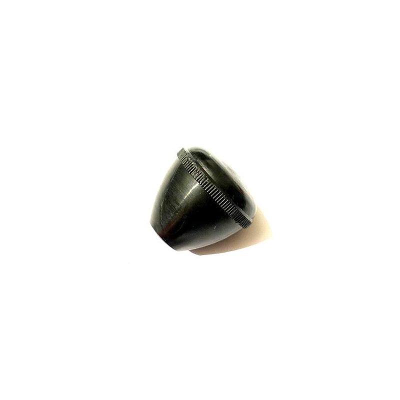Poignée ronde noire