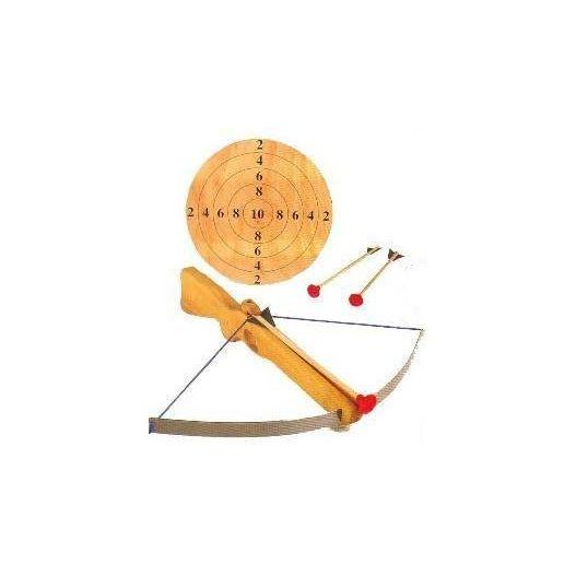 Tir à l'arbalète en bois pour enfants
