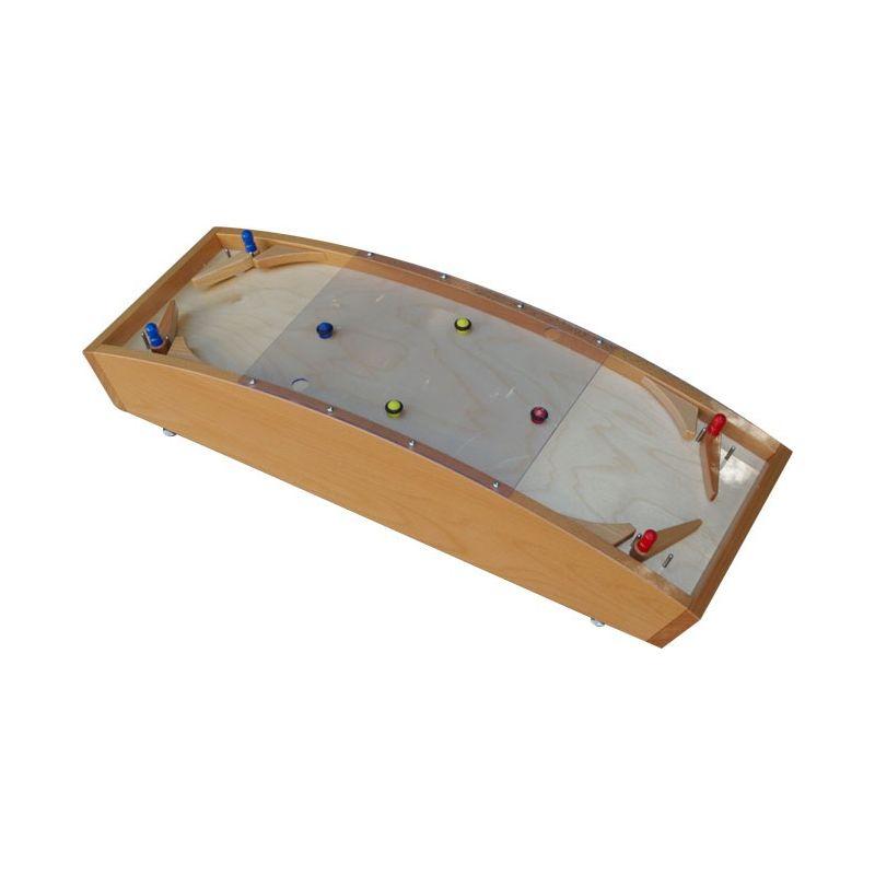 Bombix : Un flipper en bois pour adultes