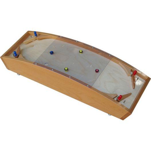 flipper en bois pour enfant jeu traditionnel flipper bois. Black Bedroom Furniture Sets. Home Design Ideas