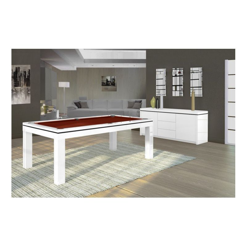 Billard contemporains et design - Billard transformable en table ...