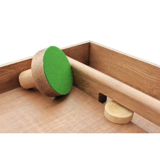 air hockey en bois