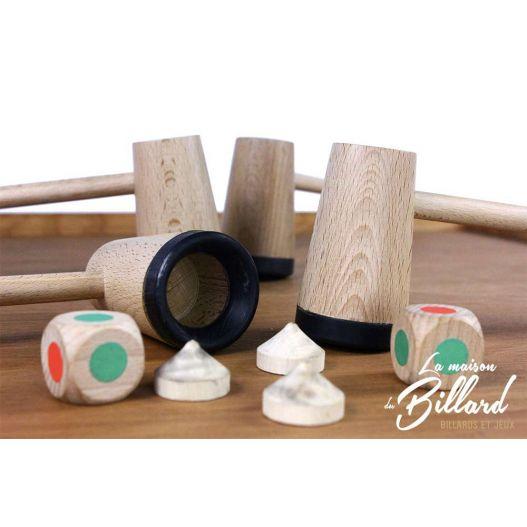 Principe chaise musicale jouet en bois