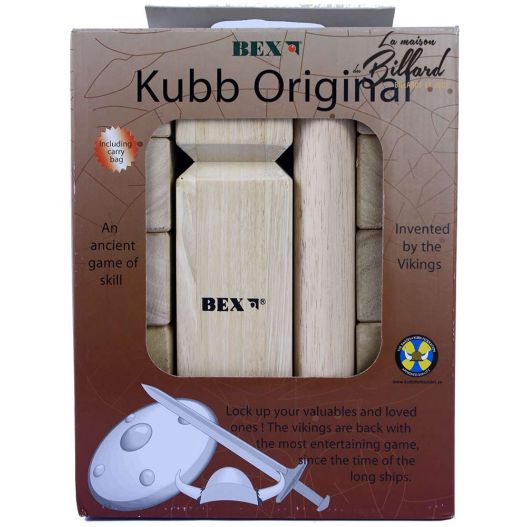 Jeu Kubb original - jeu de jardin pour adultes