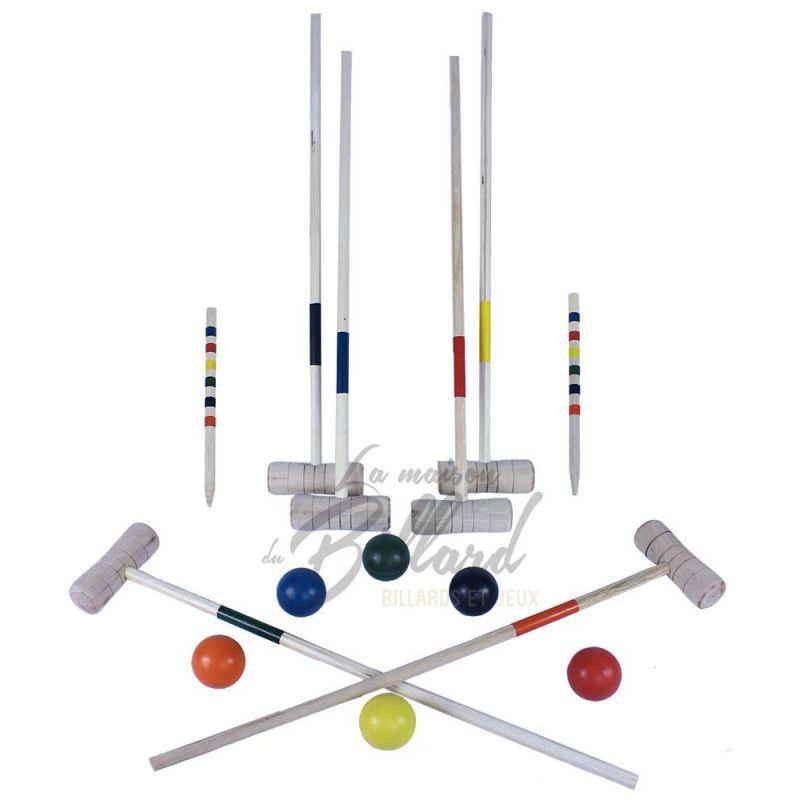 jeu de croquet pas cher pour enfants jeu croquet 6 joueurs. Black Bedroom Furniture Sets. Home Design Ideas