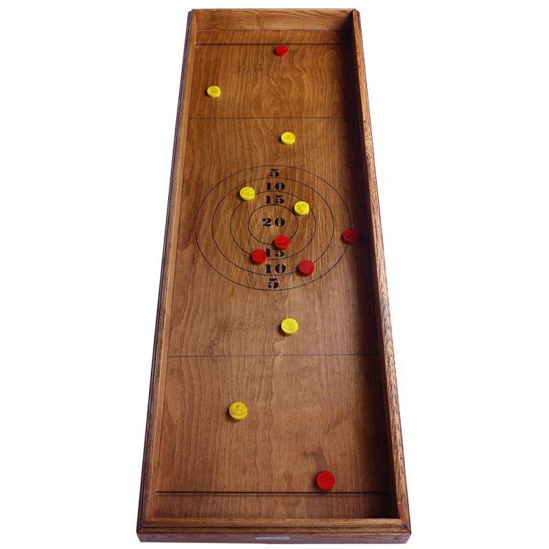 grand jeu en bois 2 joueurs tir sur cible lastique. Black Bedroom Furniture Sets. Home Design Ideas