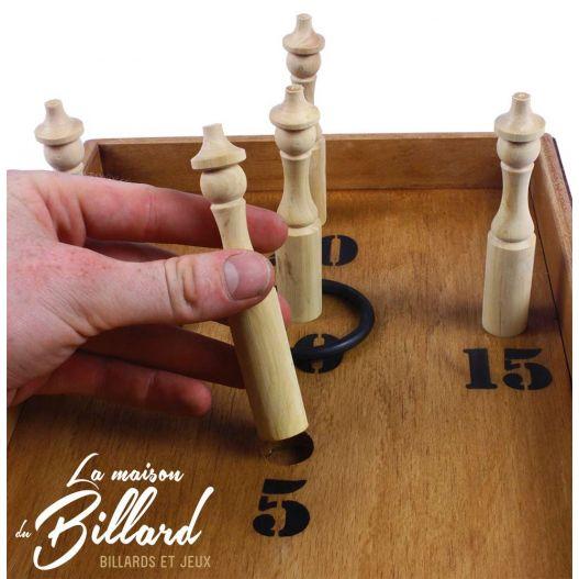 jeu traditionnel anneaux quille