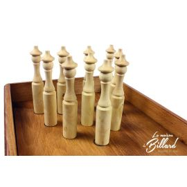 jouet en bois bowling