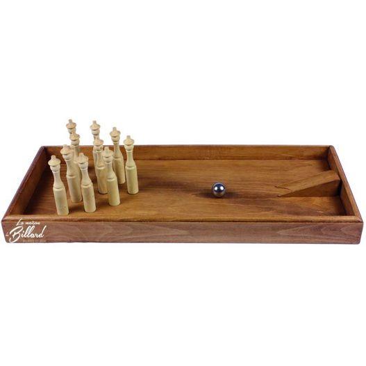 Bowling en bois jeu enfant