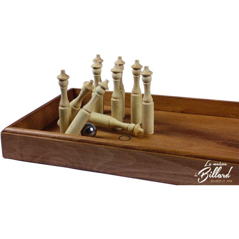 bowling de comptoir en bois