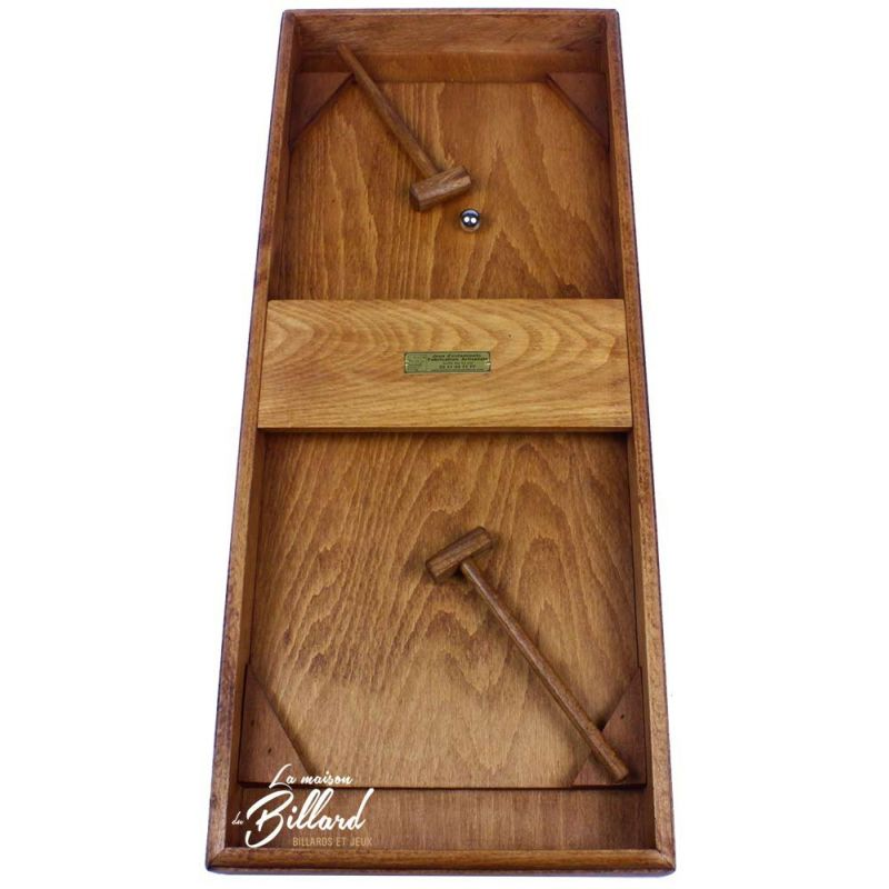 Jeux de marteaux de comptoir en bois