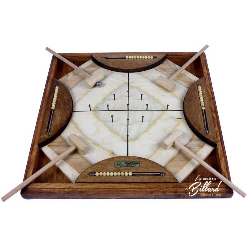 jeux de marteaux 4 joueurs ancien jeu en bois. Black Bedroom Furniture Sets. Home Design Ideas