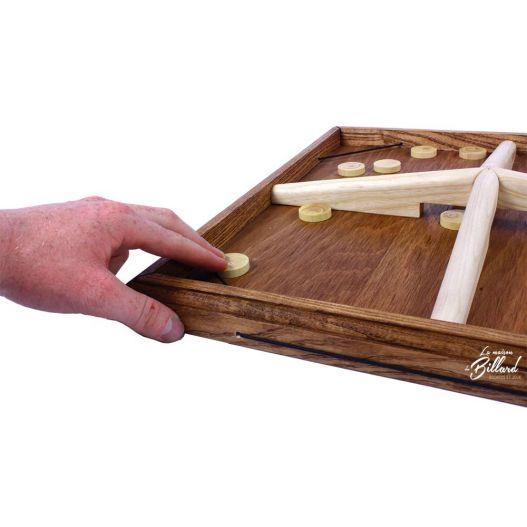 Planche à rebond 4 joueurs de comptoir