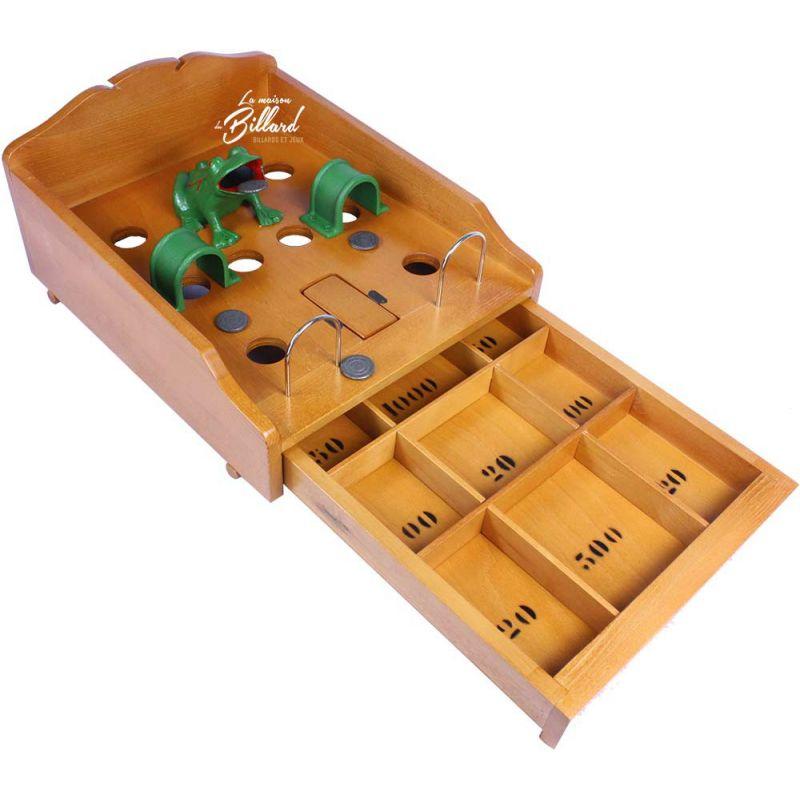 jouet en bois grenouille