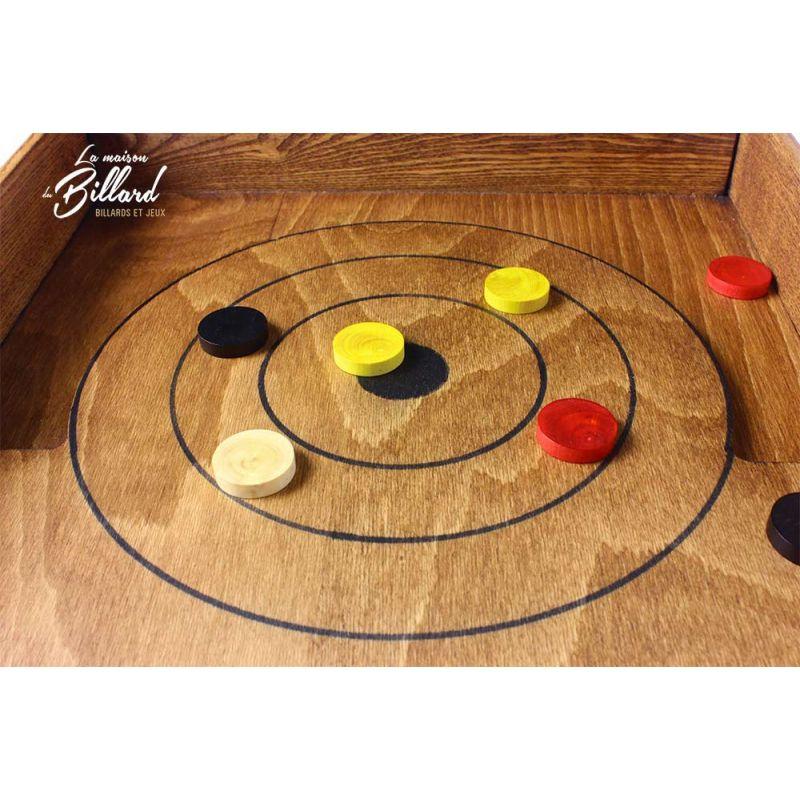 P tanque de table palet p tanque jouet en bois pour tout ge for Regle du jeu petanque