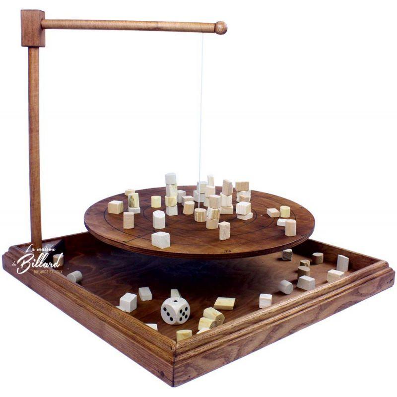 Jeu déquilibre  Jeu bomboléo en bois artisanal