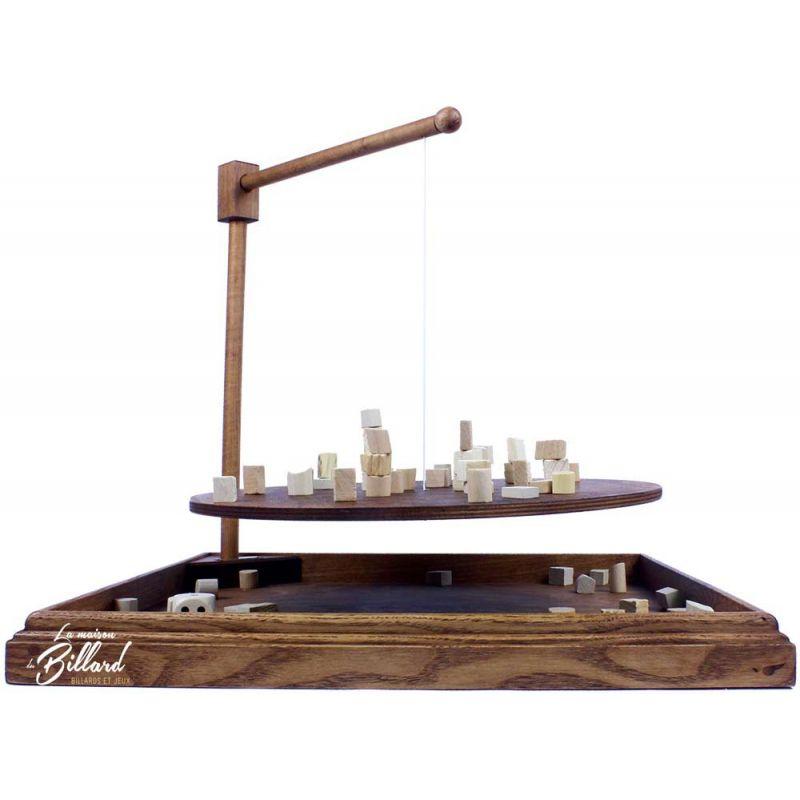 Jeu d'équilibre Jeu bomboléo en bois artisanal # Jeux En Bois À Fabriquer