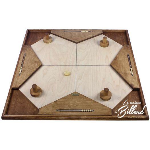 jeu g ant en bois 100 jeux geants pour petits et grands la maison du billard. Black Bedroom Furniture Sets. Home Design Ideas