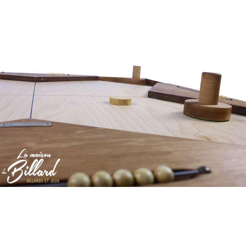 Grand jeu en bois animation